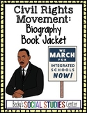 The Civil Rights Movement - Create a Biography Book Cover of a Leader