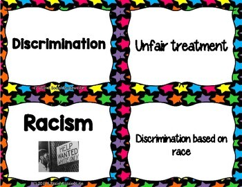 Civil Rights Movement Flash Cards
