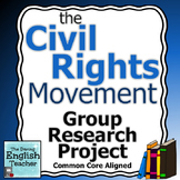 Civil Rights Movement Group Research Project