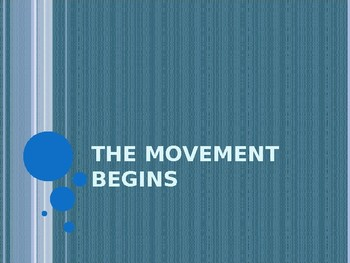 The Civil Rights Movement Introduction