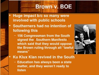 The Civil Rights Movement PPT