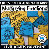 Multiplying Fractions By Whole Numbers Worksheet Civil Rights Movement