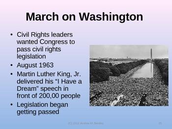 Civil Rights Movement PowerPoint Presentation