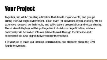 The Civil Rights Movement Powerpoint