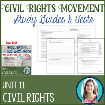 The Civil Rights Movement Study Guides and Tests