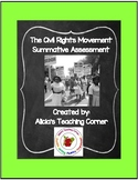 The Civil Rights Movement: Summative Assessment (5th Grade Social Studies)