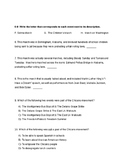 The Civil Rights Movement Unit Exam