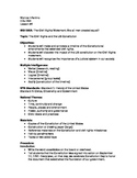 The Civil Rights Movement and US Constitution Lesson Plan