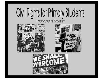 The Civil Rights Movement for Primary Students
