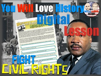 The Civil Rights Movement in the 1950's Digital Activity