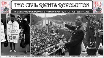 The Civil Rights Revolution PP Notes for U.S. History Classes