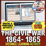 The Civil War: 1864-1865 Activity