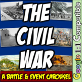 Civil War: A Battle/Event Carousel! 9 Events from Sumter to Appomattox!