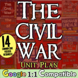 Civil War: 14 engaging, Common Core lessons to teach American Civil War Unit!