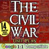Civil War Activities Unit: 14 lessons to teach the American Civil War Unit!