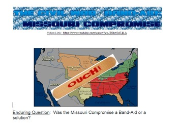 The Civil War Band Aid:  Missouri Compromise