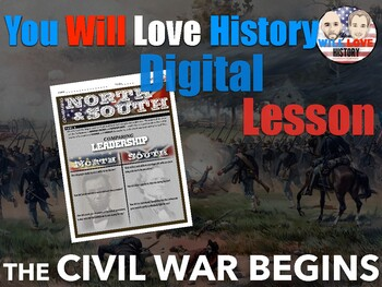 The Civil War Begins: Comparing the North and South Digital Activity