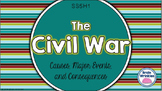 The Civil War: Causes, Major Events, and Consequences