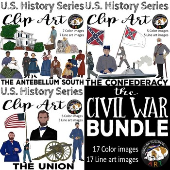 The Civil War Clip Art Bundle