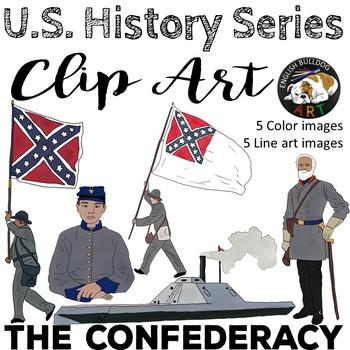 The Civil War Clip Art Set 2: The Confederacy