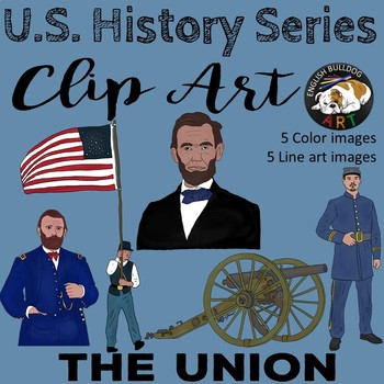 The Civil War Clip Art Set 3: The Union