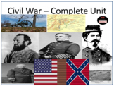 The Civil War - Complete Unit