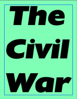 The Civil War Cornell Notes