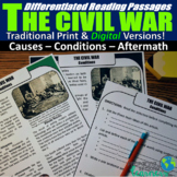 The Civil War Differentiated Reading Passages