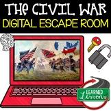 The Civil War Digital Escape Room, The Civil War Breakout Room, Test Prep