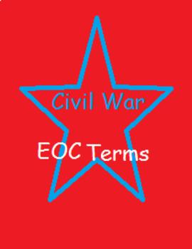 The Civil War EOC Terms