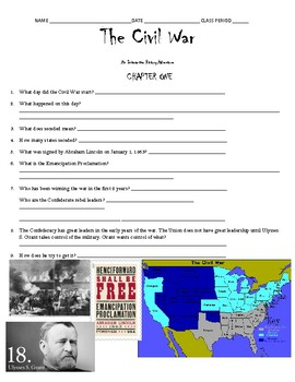 The Civil War Interactive History Adventure Activity