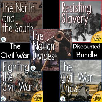 The Civil War Interactive Notebook Bundle