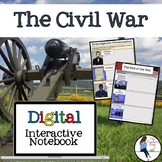 The Civil War Interactive Notebook for Google Drive