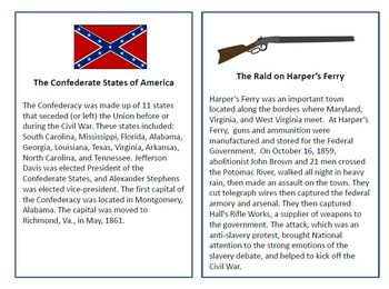 Civil War Language Comprehension and Expression Unit