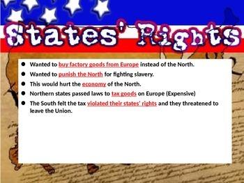 Civil War POWERPOINT - 5th Social Studies