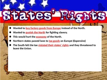 Civil War PowerPoint and Interactive Notes - 4th Grade Social Studies