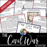 The Civil War Packet for Distance Learning and Google Drive