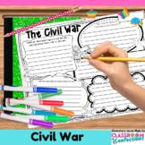 Civil War Activity Poster