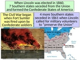 The Civil War PowerPoint- Free YouTube Preview!