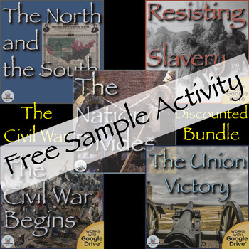 The  Civil War US History Unit Gettysburg Address Sample Activity