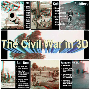 Civil War in 3D PowerPoint Lesson