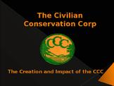 World Wars Era - Pre WW II - The Civilian Conservation Corps