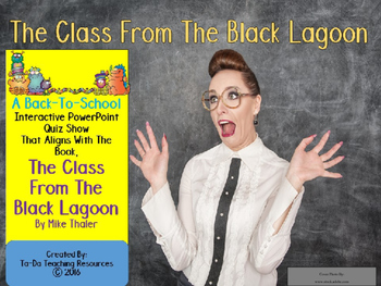 The Class From The Black Lagoon PowerPoint Quiz Show