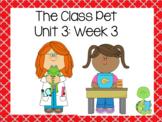 The Class Pet! First Grade Reading Street FLIPCHART Unit 3: Week 3