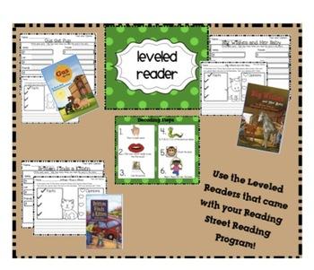 The Class Pet - Reading Street -  Unit 3 Week 3 Literacy Centers