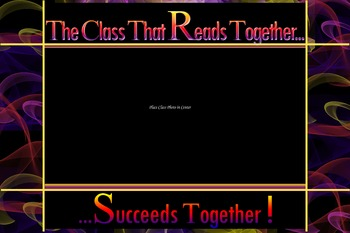 The Class that Reads Together Succeeds Together