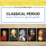The Classical Period in Music History Quick Guide