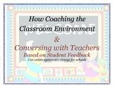 The Classroom Environment: coaching teachers