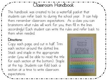 The Classroom Handbook Project