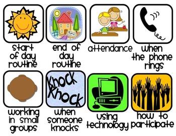 The Classroom Procedures Game-Make Teaching Classroom Procedures Fun!